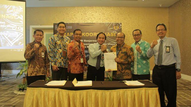 Rapat Koordinasi Kelompok Kerja Kanwil BRI Banjarmasin dan Kanwil DJKN Kaltimtara