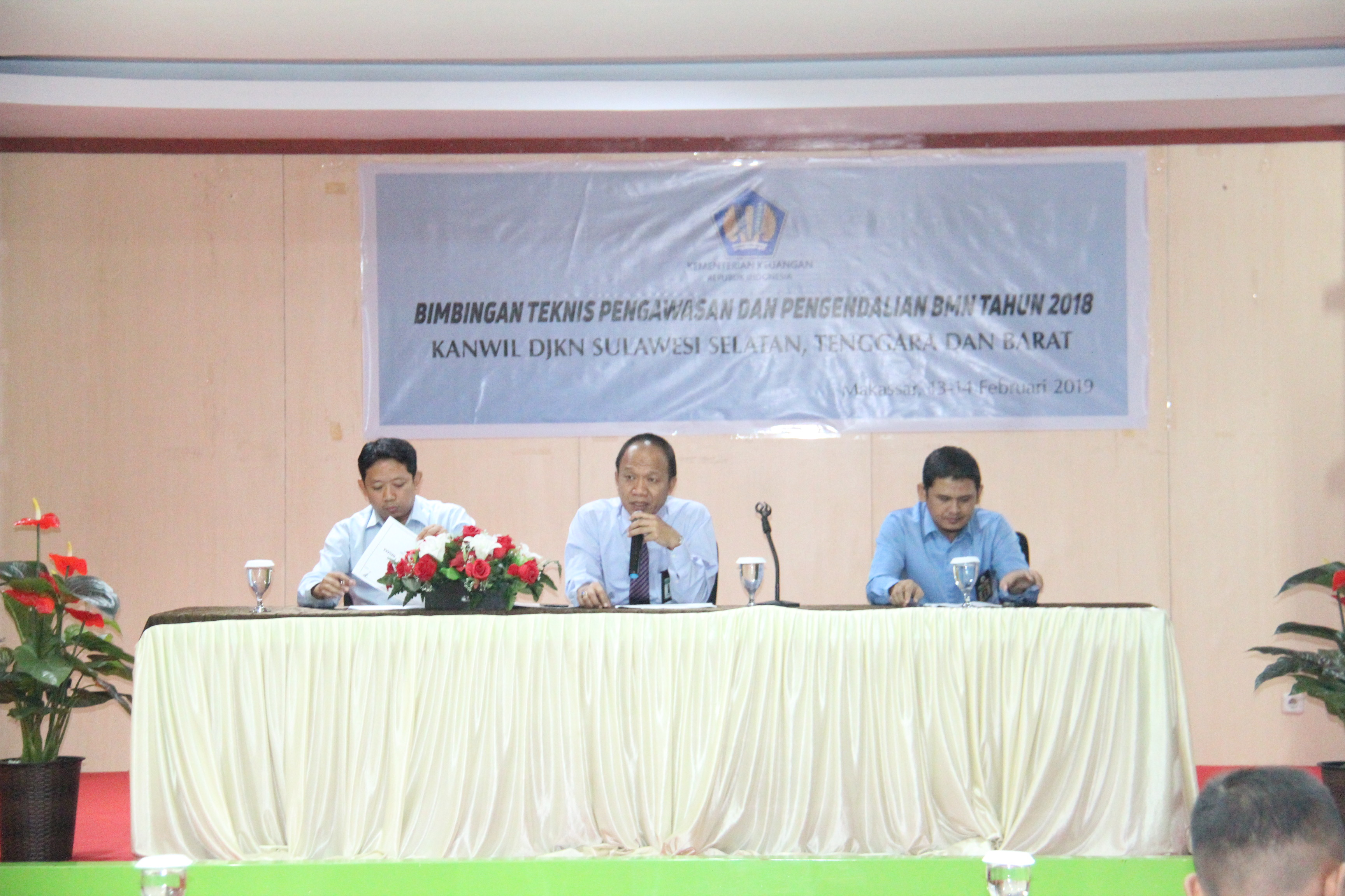 Kegiatan Bimbingan Teknis Pengawasan dan pengendalian BMN Tahun 2018