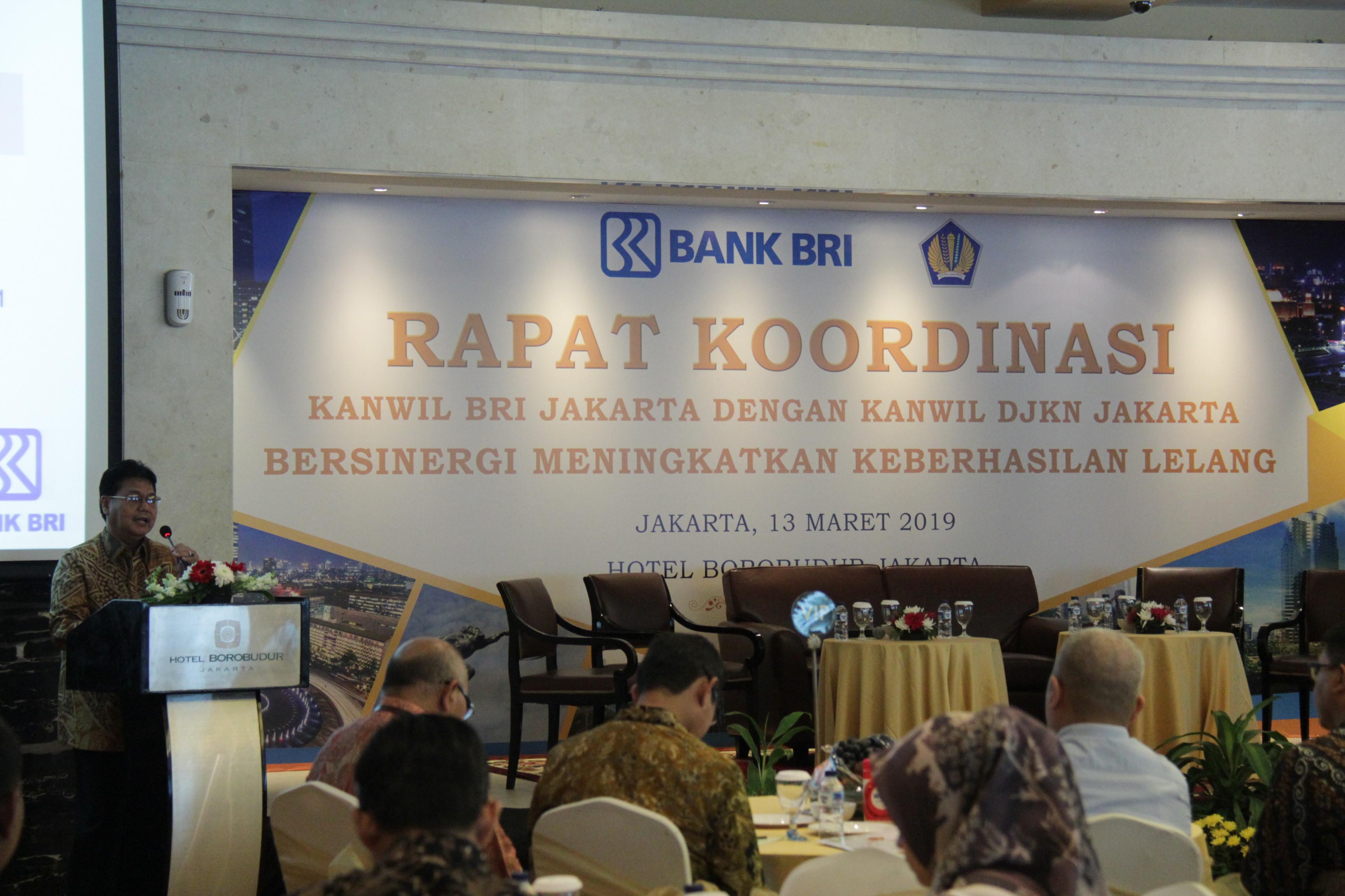 SINERGI ANTARA KANWIL BRI WILAYAH JAKARTA DAN KANWIL DJKN DKI JAKARTA