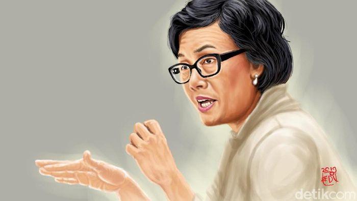 Sri Mulyani Minta Lelang Barang Sitaan Negara 100% Online