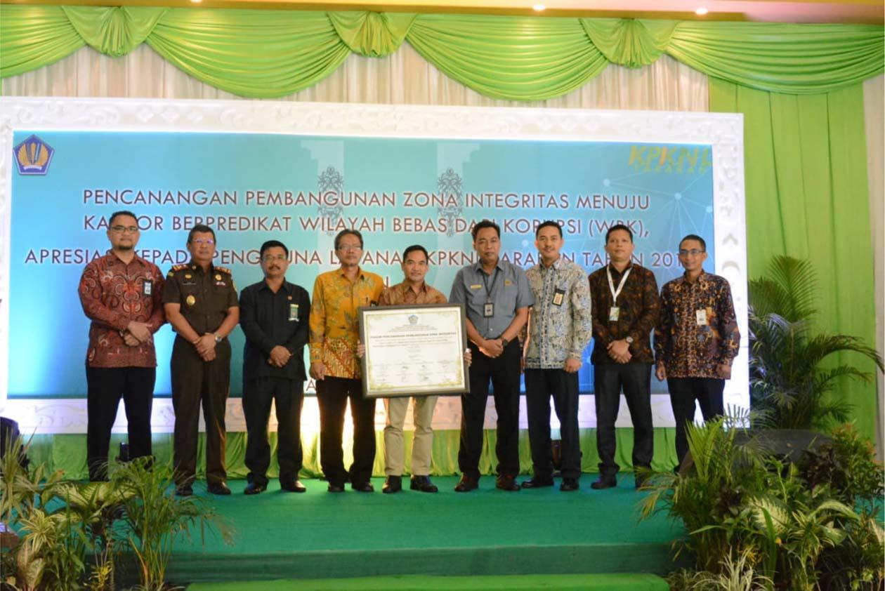 Wujudkan Reformasi Birokrasi Bersih, KPKNL Tarakan Canangkan Wilayah Bebas Korupsi