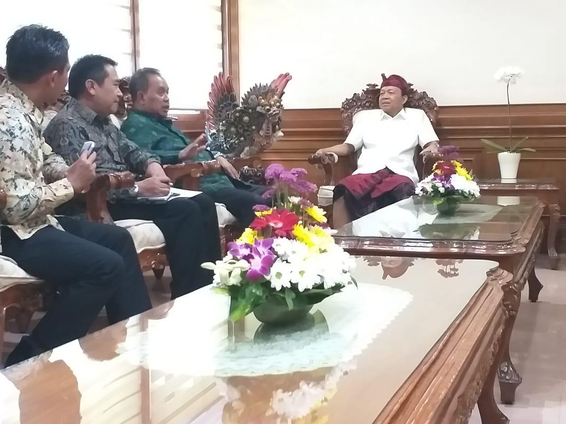 Sampaikan Kondisi Makro Regional Bali, Gubernur I Wayan Koster Apresiasi Dukungan DJKN