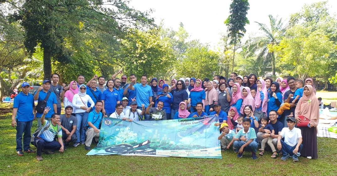 KPKNL Jakarta IV Gelar Public Campaign Dalam Rangka Pengendalian Gratifikasi dan Gerakan Go Green.
