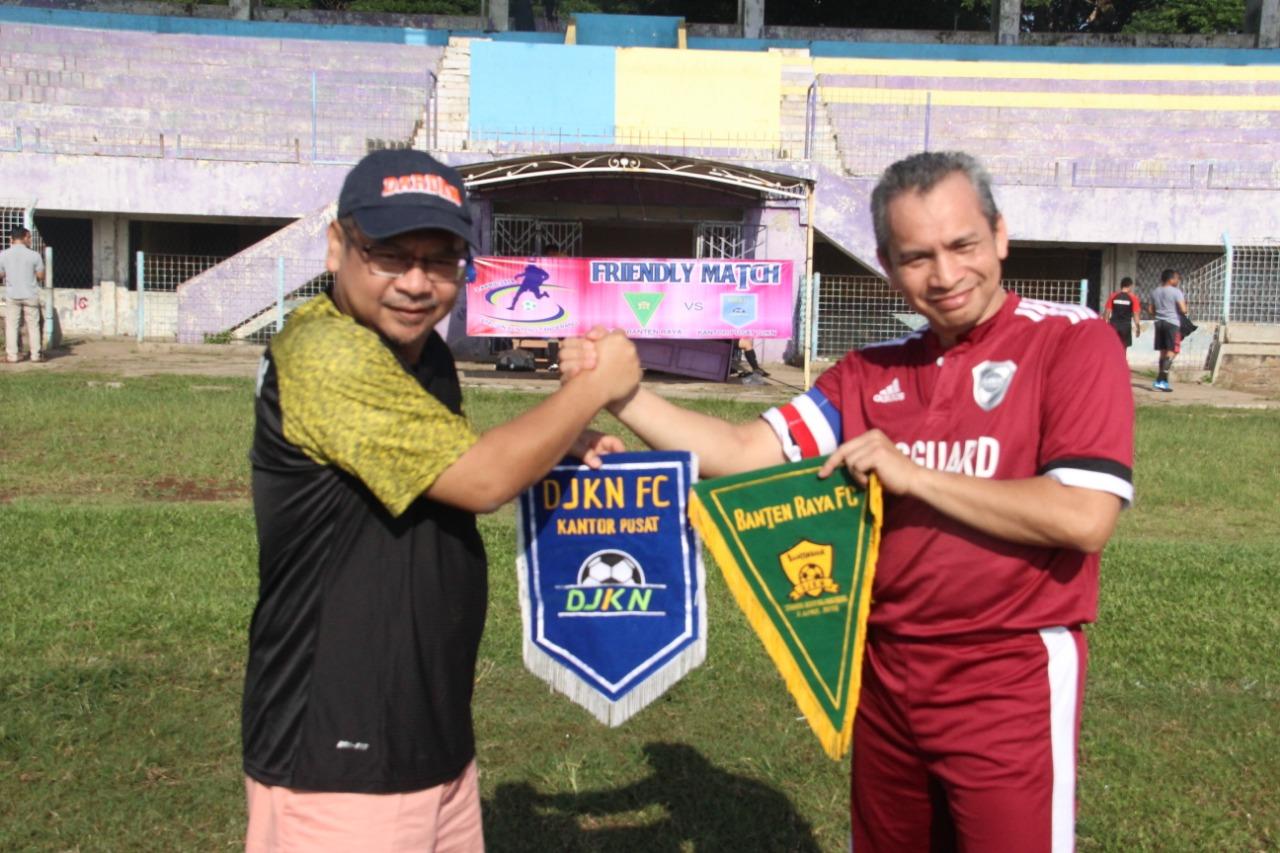Tim DJKN Banten Raya Belum Mampu Membalas Kekalahan atas Tim Kantor Pusat DJKN di Stadion Benteng Tangerang