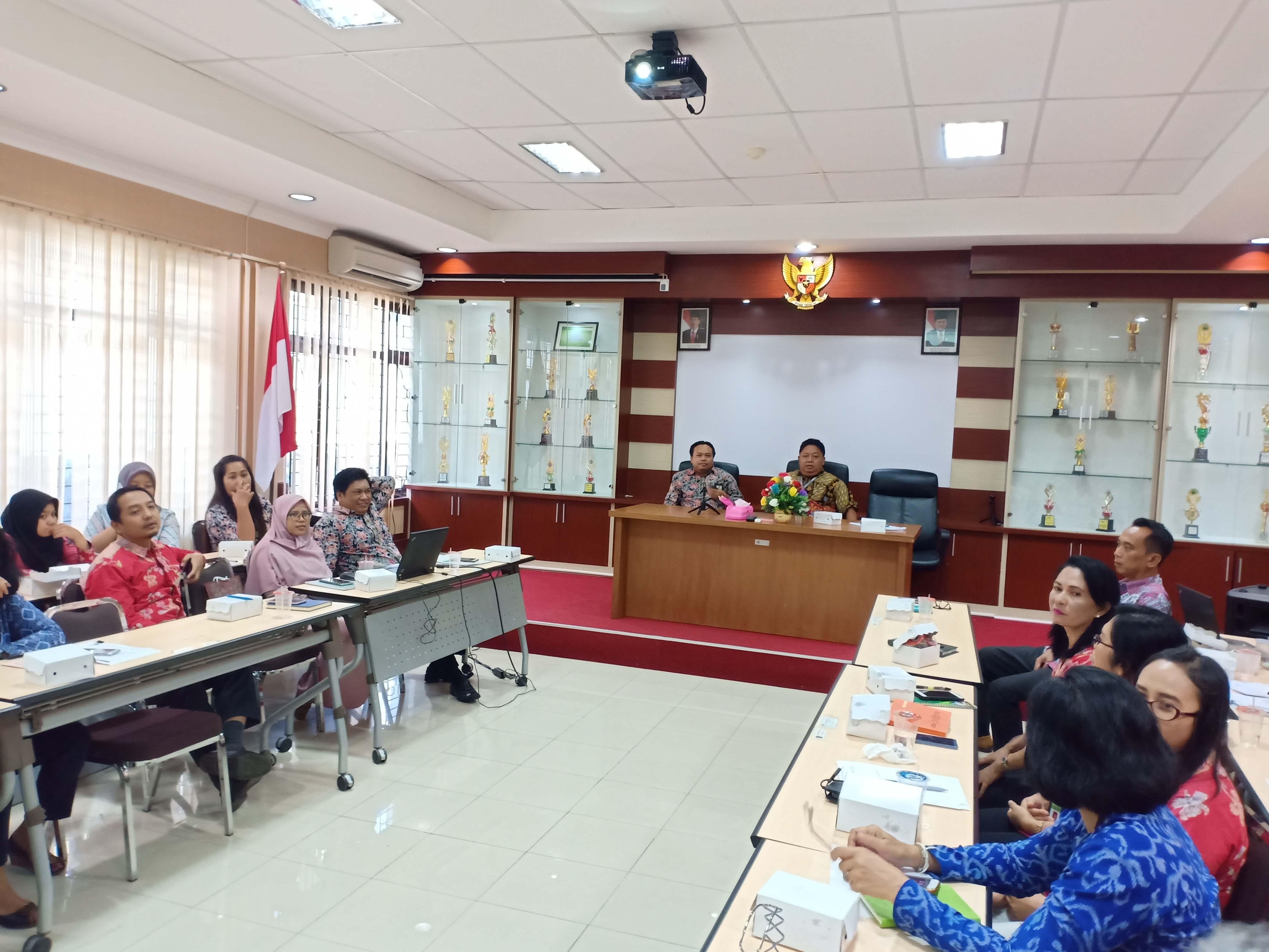 Rapat DKO dan Mitigasi Risiko Triwulan I 2019 pada KPKNL Singaraja