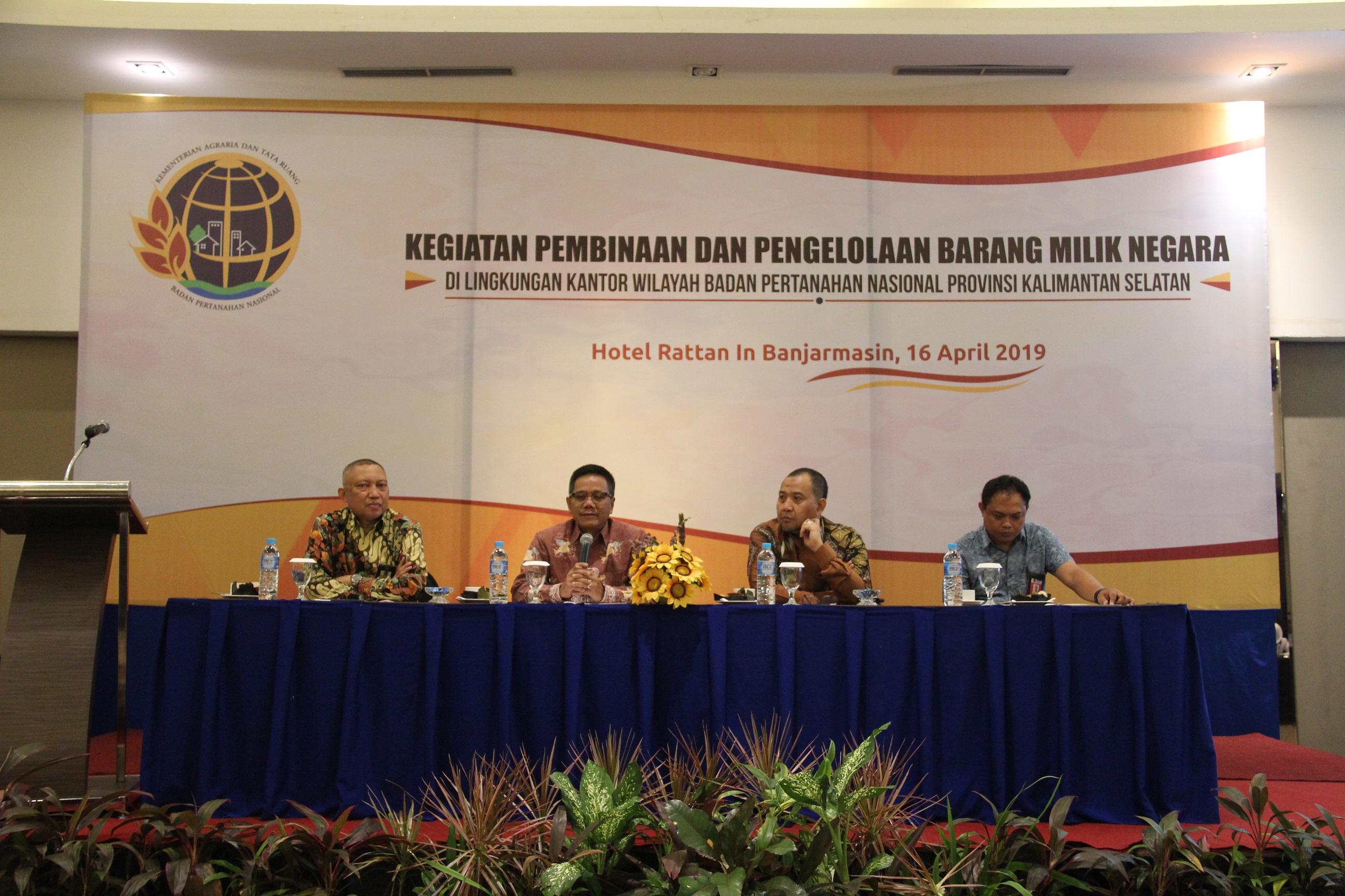 Sertifikasi Barang Milik Negara berupa Tanah di Wilayah Provinsi Kalimantan Selatan