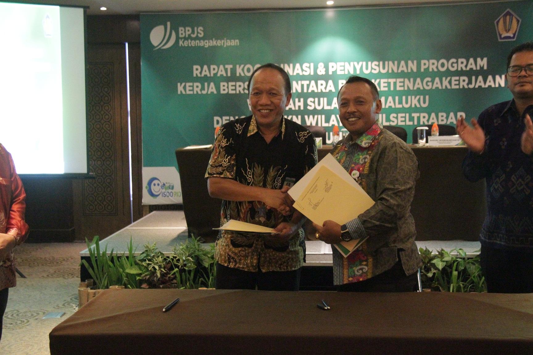 Sinergi KPKNL Makassar dan BPJS Ketenagakerjaan Optimalkan Pengurusan Piutang Negara