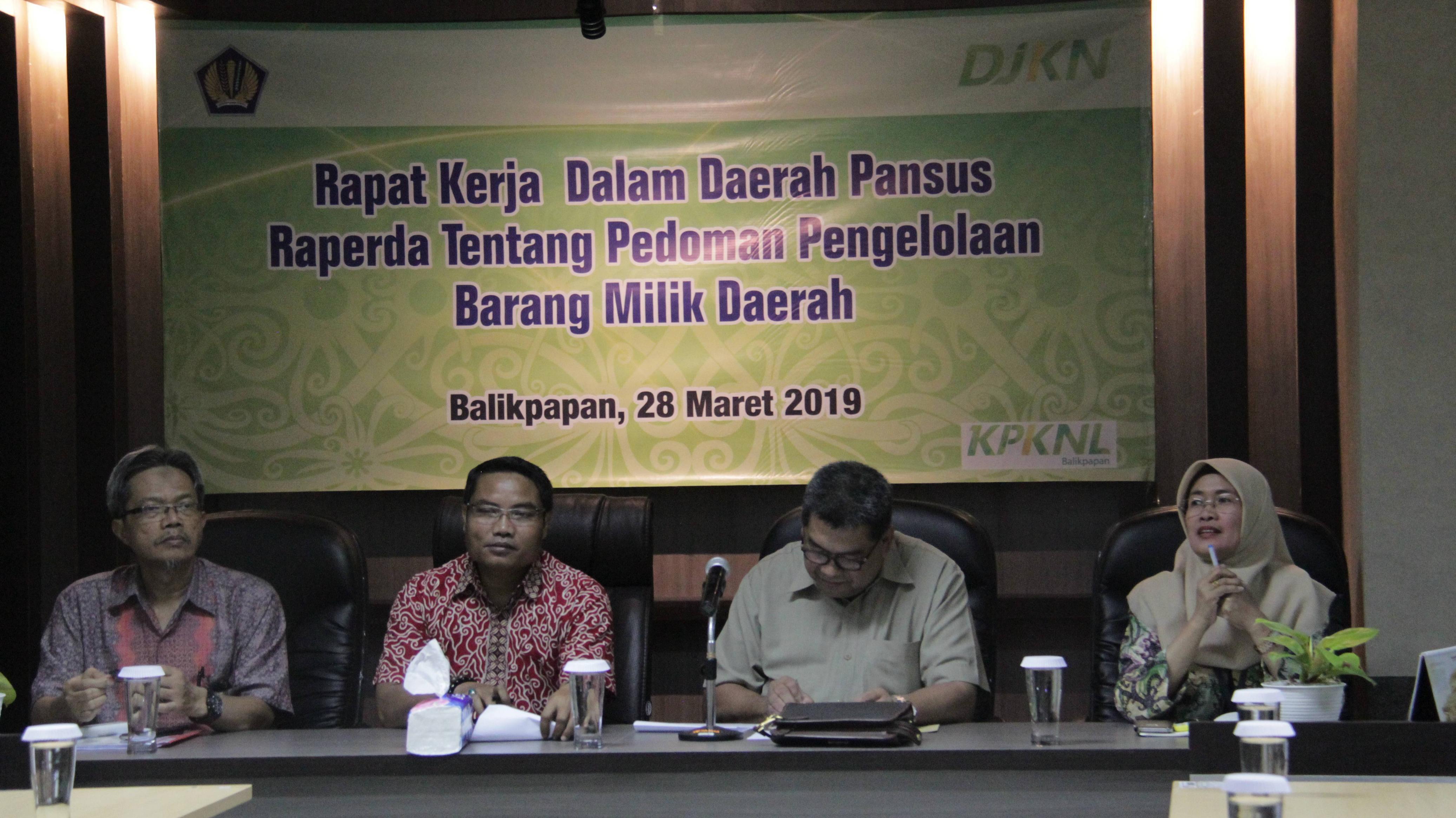 Pansus DPRD Kukar Konsultasikan BMD hingga ke KPKNL Balikpapan