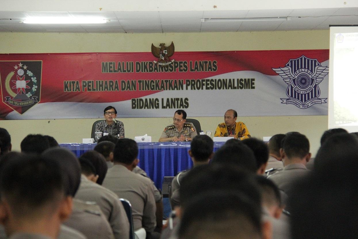 Sinergitas KPKNL Tangerang II dan Pusdik Lantas POLRI