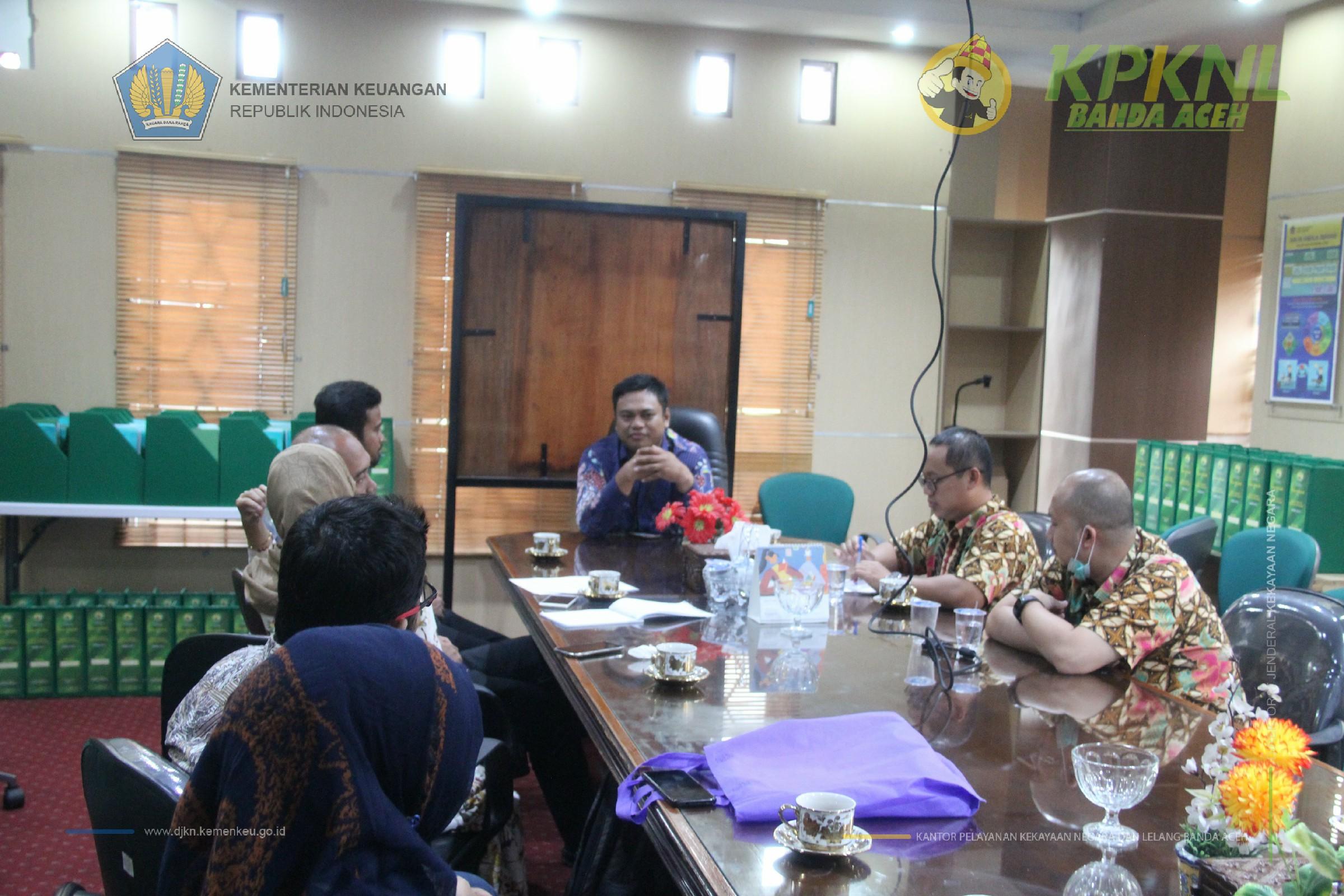 Sinergi Tindak Lanjut Re-Reval 2019 dengan Kementerian Agama Banda Aceh