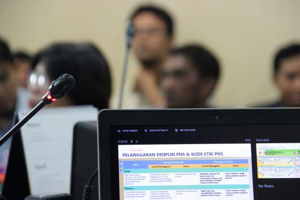 """""""Ayo Pintar Bersama"""" Kanwil DJKN Banten : Pegawai Harus Tahu dan Taat Kode Etik dan Kode Perilaku PNS Kemenkeu"""