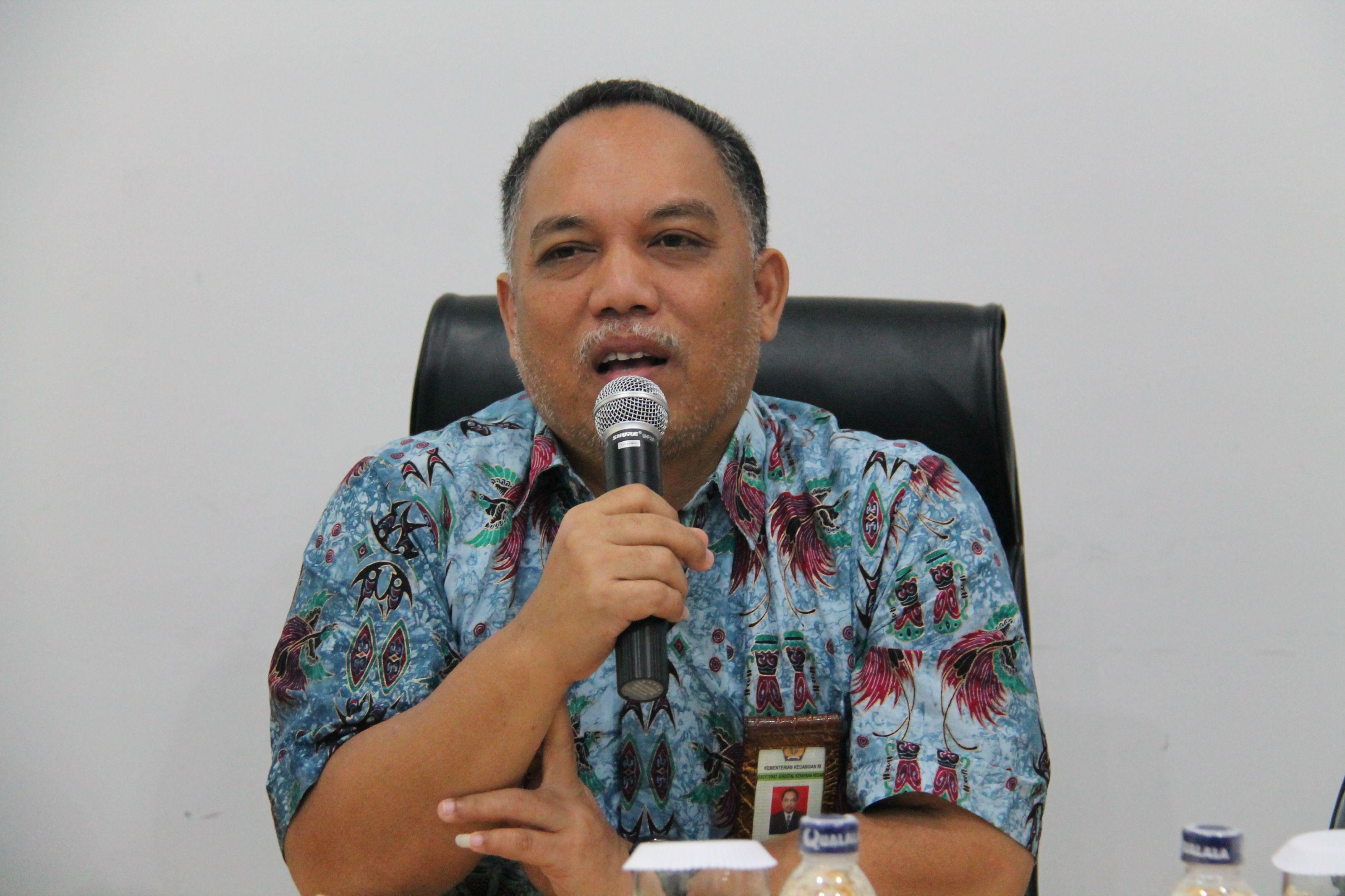 Pembinaan Kakanwil DJKN Papabaruku dan Sosialisasi Kartu Kredit Pemerintah