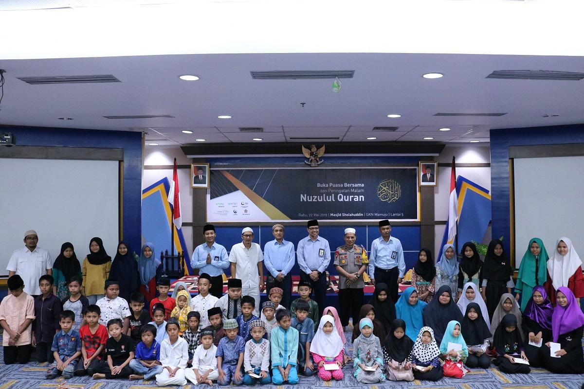 Sinergi Keluarga GKN Mamuju dan Polda Sulawesi Barat dalam Buka Bersama