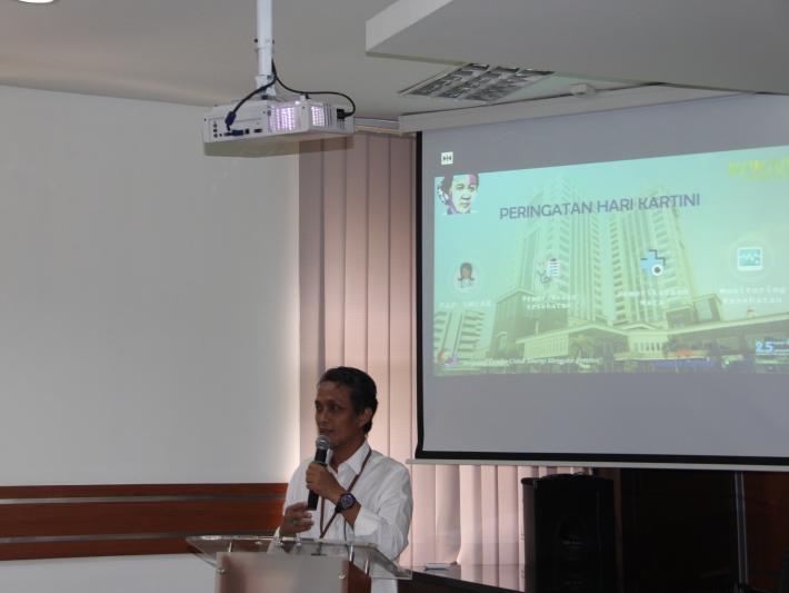 Peringati Hari Kartini, KPKNL Tangerang I Adakan Pemeriksaan Pap Smear dan Mata Gratis
