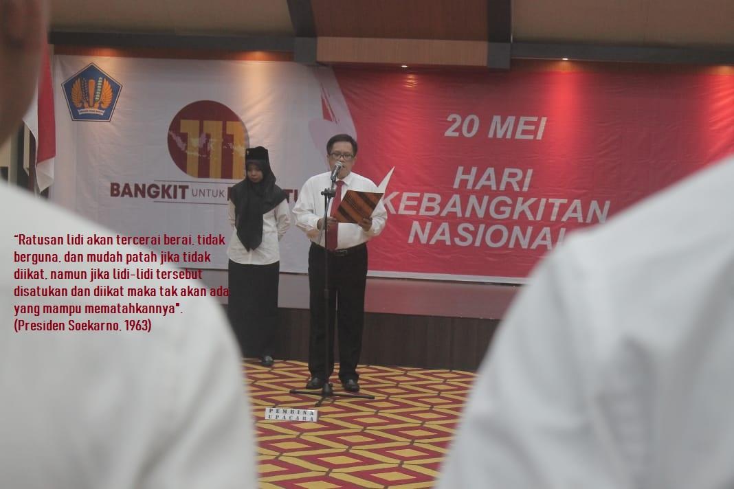 """Upacara Hari Kebangkitan Nasional ke-111: """"Bangkit Untuk Bersatu""""."""