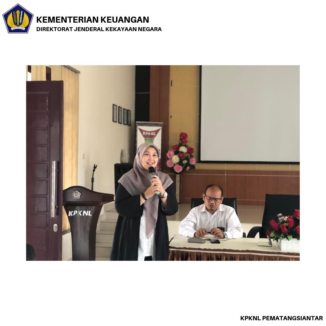 """""""Selamat Datang Ibu Ririen Fransiska di KPKNL Pematangsiantar"""""""