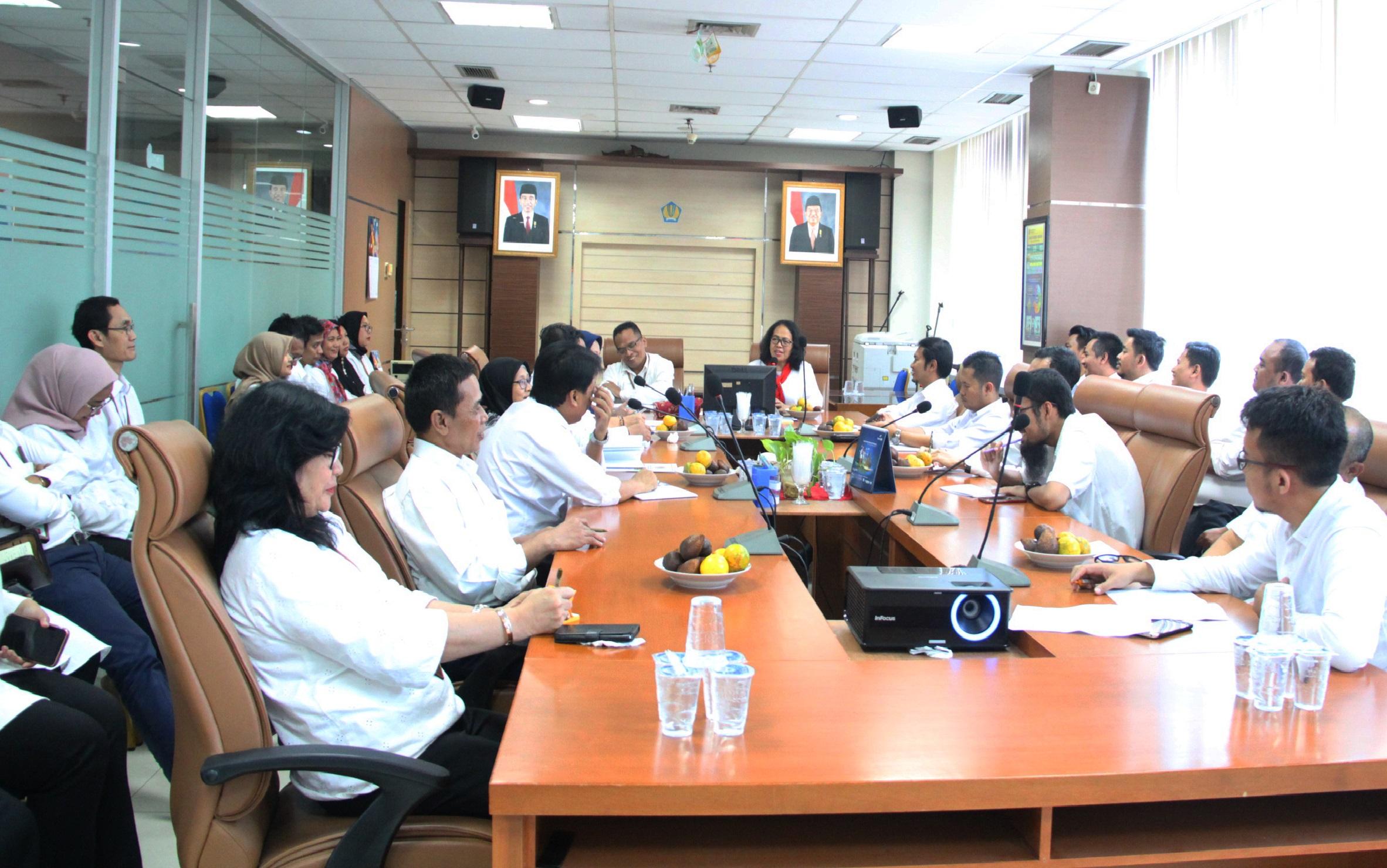 Sambut Kepala Kantor Baru, KPKNL Jakarta V Siap Lampaui Target