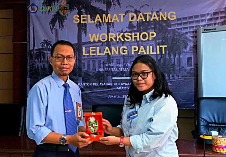 KPKNL JAKARTA III - UNIKA ATMA JAYA ADAKAN WORKSHOP LELANG PAILIT
