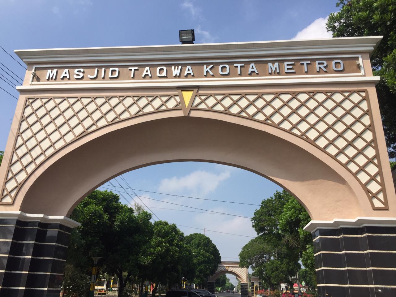 MASJID TAQWA, Sang Ikon Kota Metro
