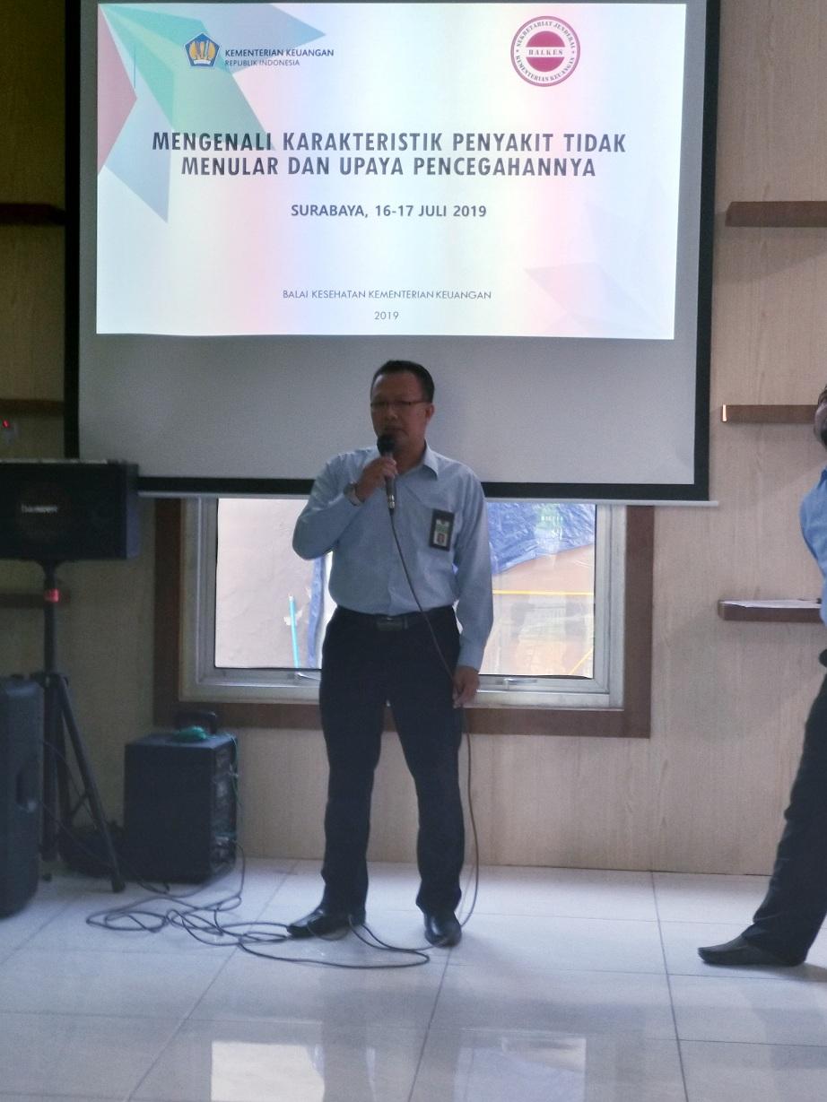 Sharing Session Perdana tentang Pos Pembinaan Terpadu Penyakit Tidak Menular