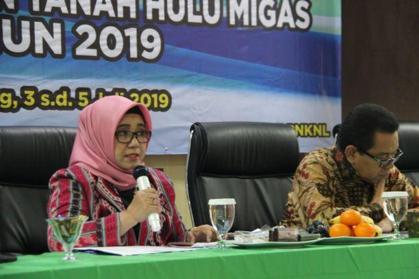 70 (tujuh puluh) ribu hektar BMN tanah Hulu Migas belum disertipikatkan atas nama Pemerintah Republik Indonesia