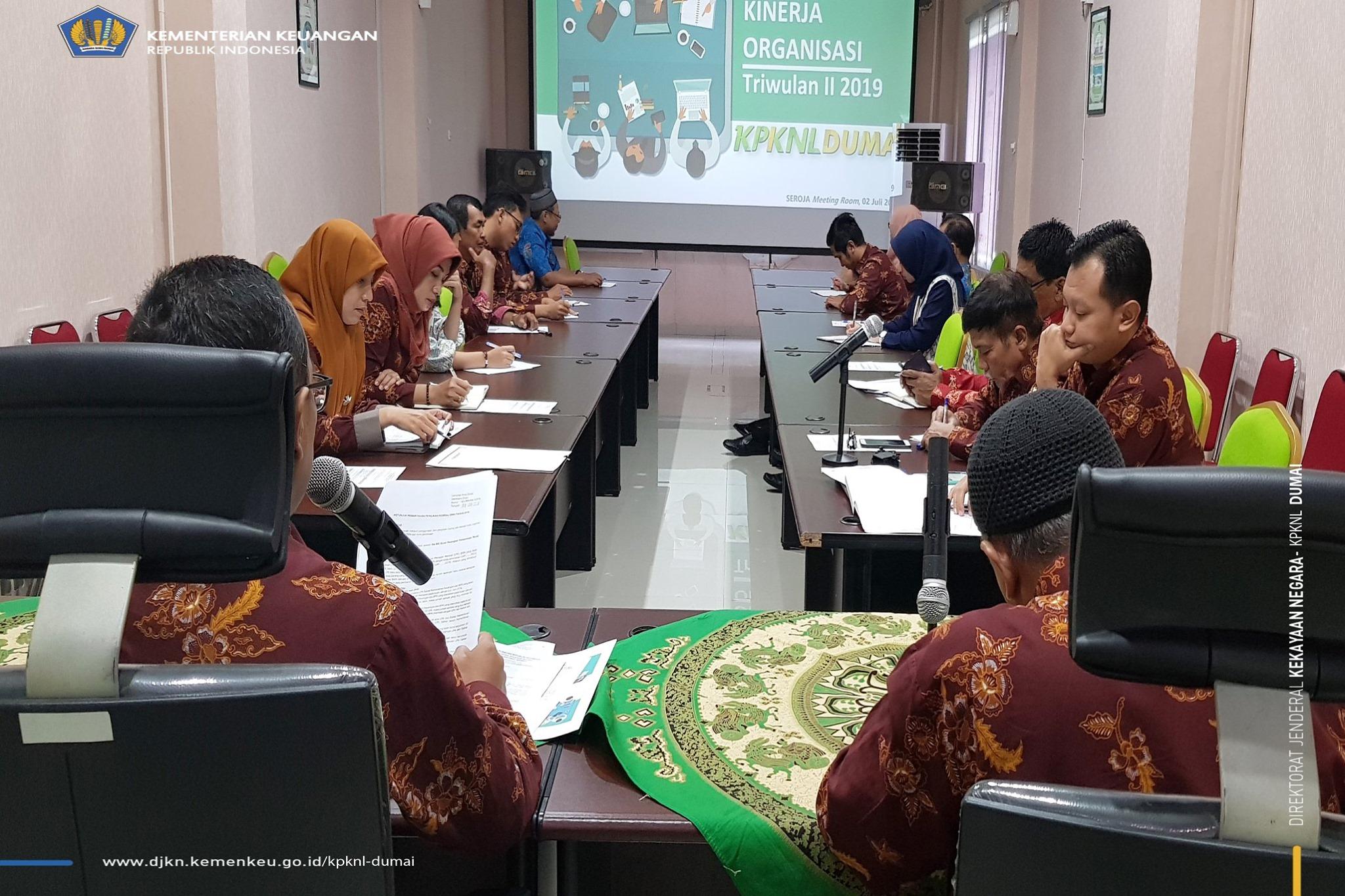 DKO Triwulan II tahun 2019, KPKNL Dumai Bisa!