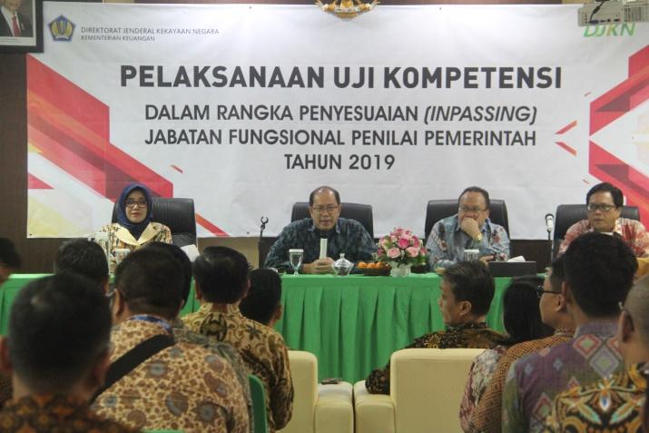 Uji Kompetensi Jabatan Fungsional Penilai Pemerintah Tahun 2019