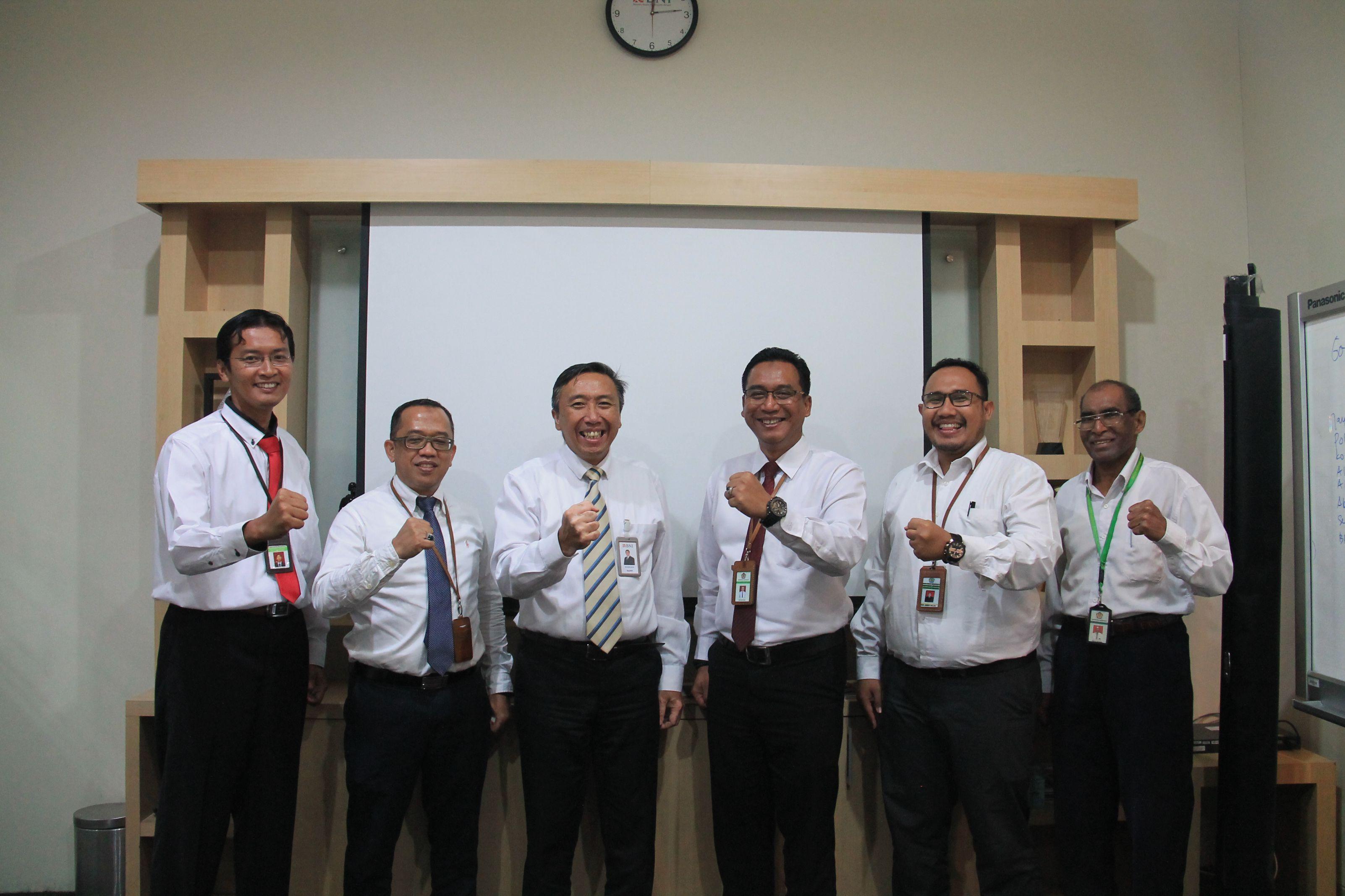 Koordinasi dan Penggalian Potensi lelang pada Bank BNI Papua