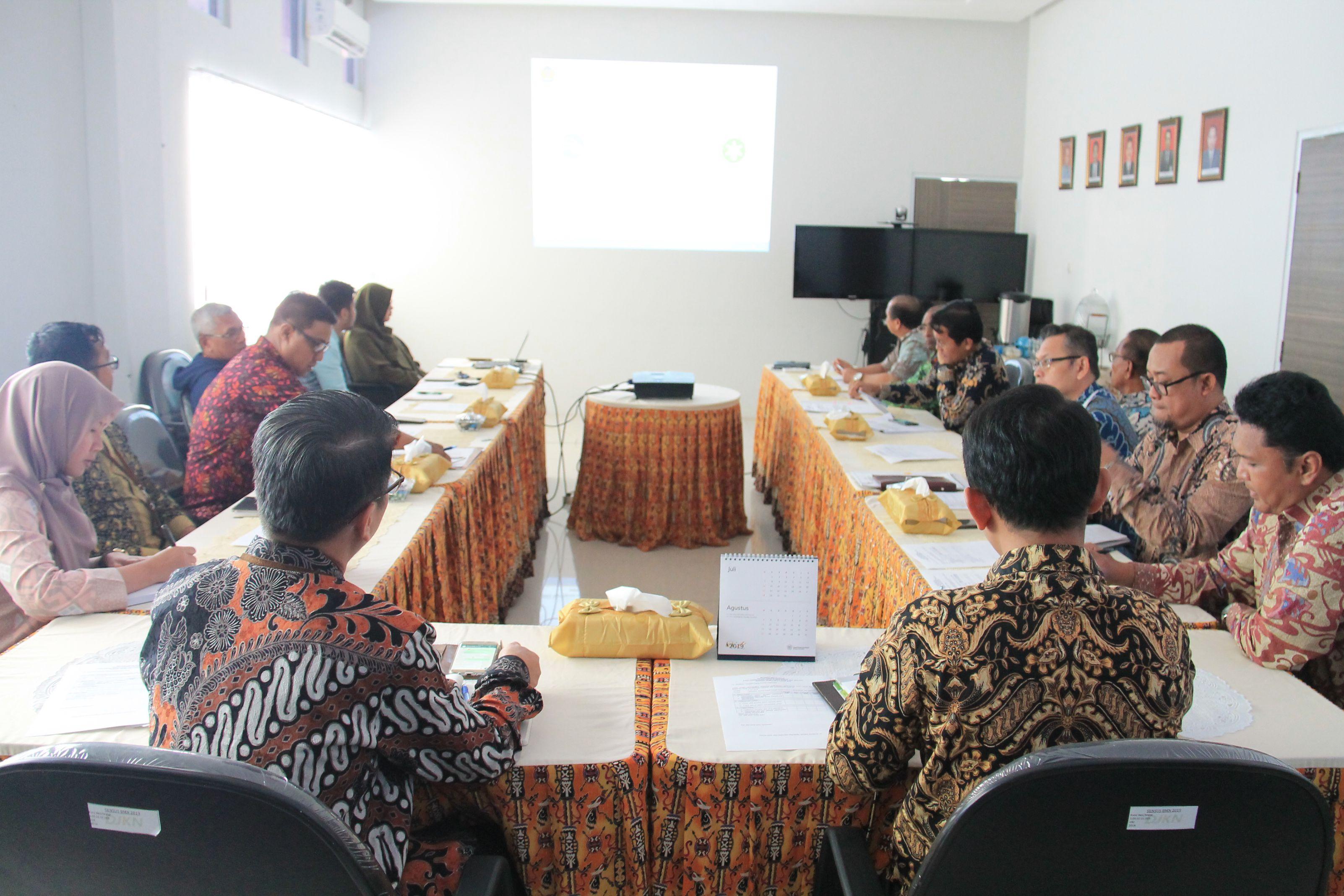 Dialog Kinerja Organisasi dan Manajemen Risiko Triwulan II Tahun 2019 Kanwil DJKN Papabaruku