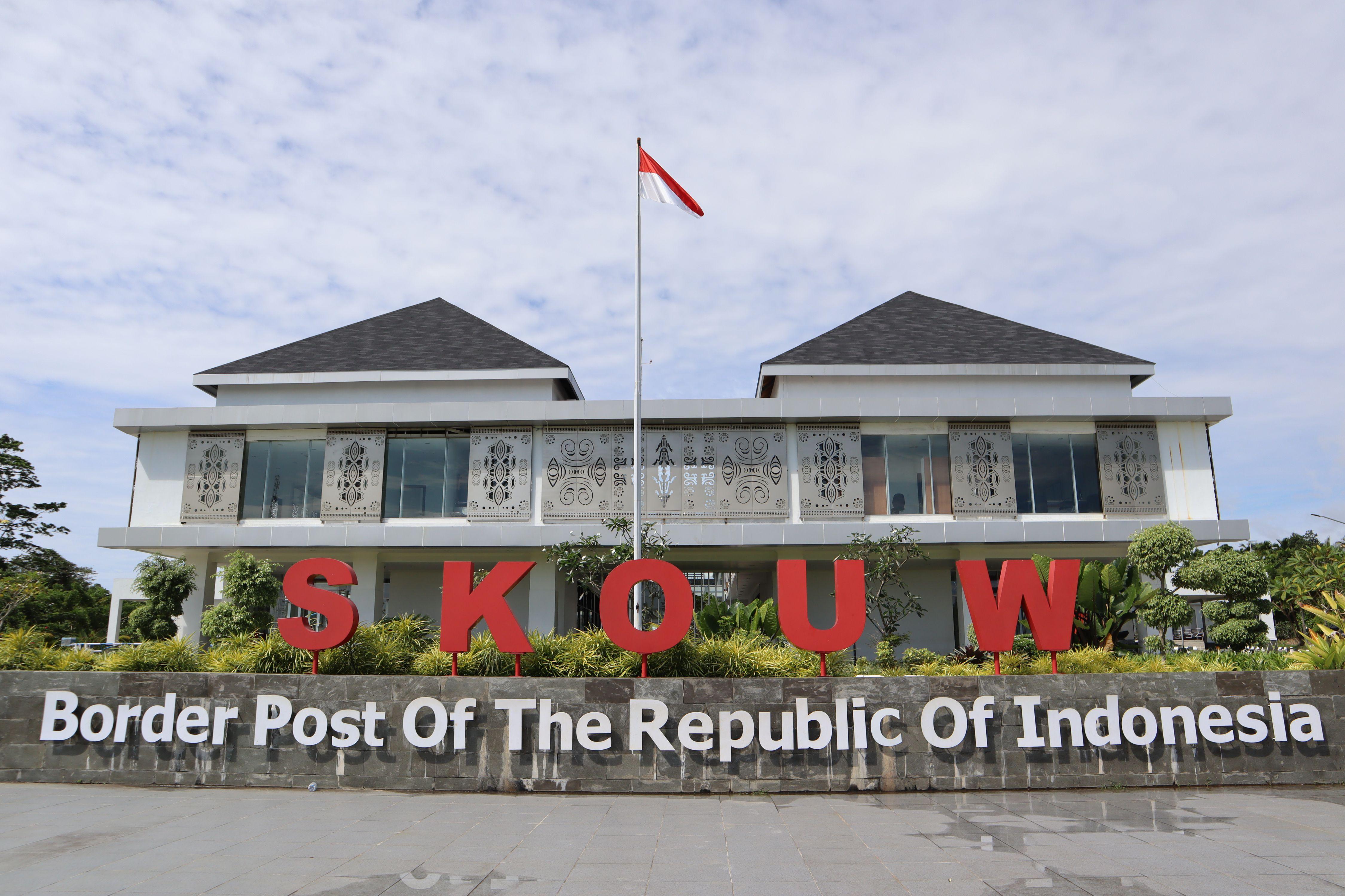 Jaga Aset Negara: Pos Lintas Batas Negara (PLBN) Skouw, Gerbang Paling Timur Indonesia