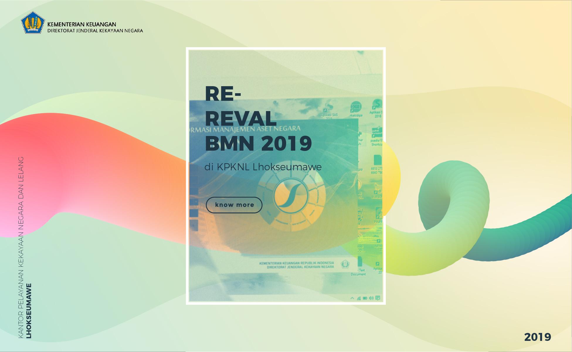 Re-Revaluasi BMN 2019