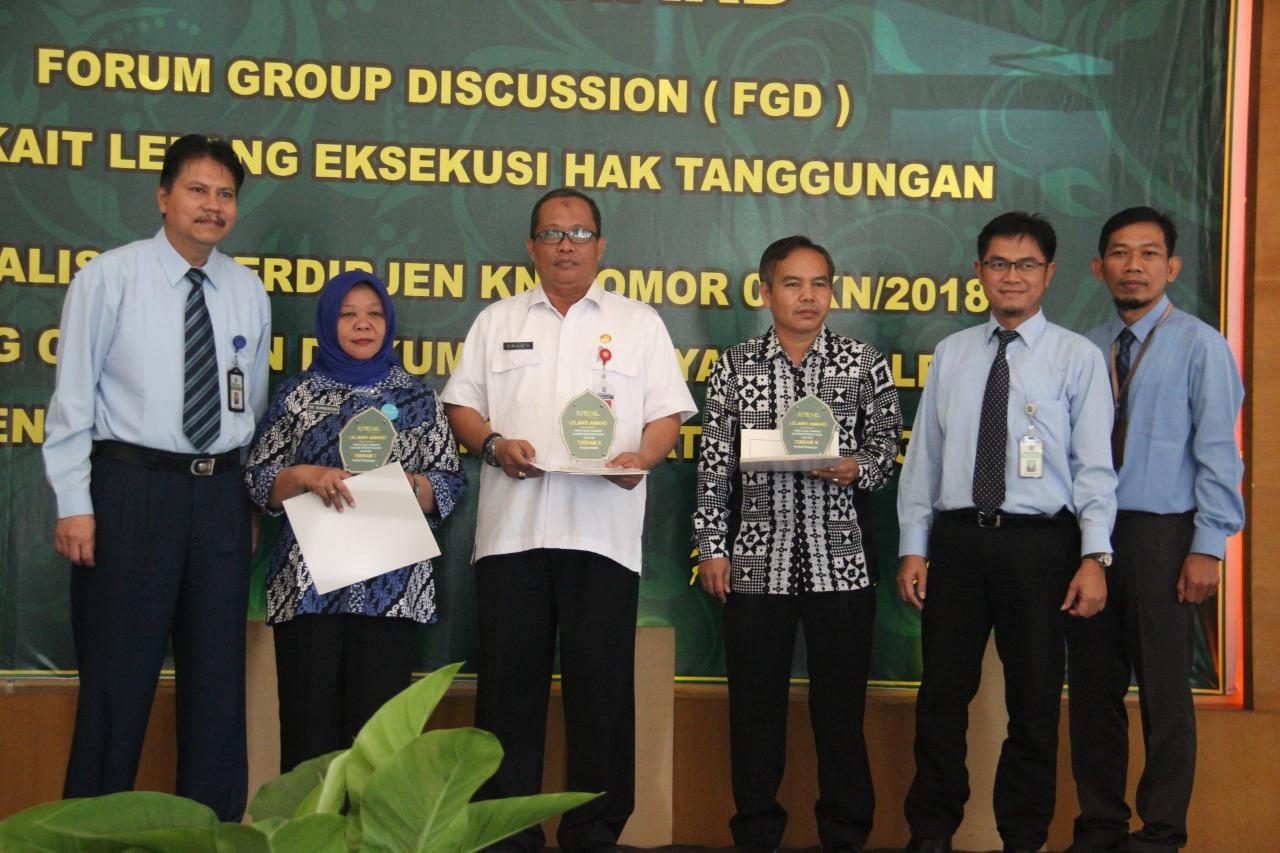 Lelang Award Apresiasi Bagi Pengguna Jasa Lelang