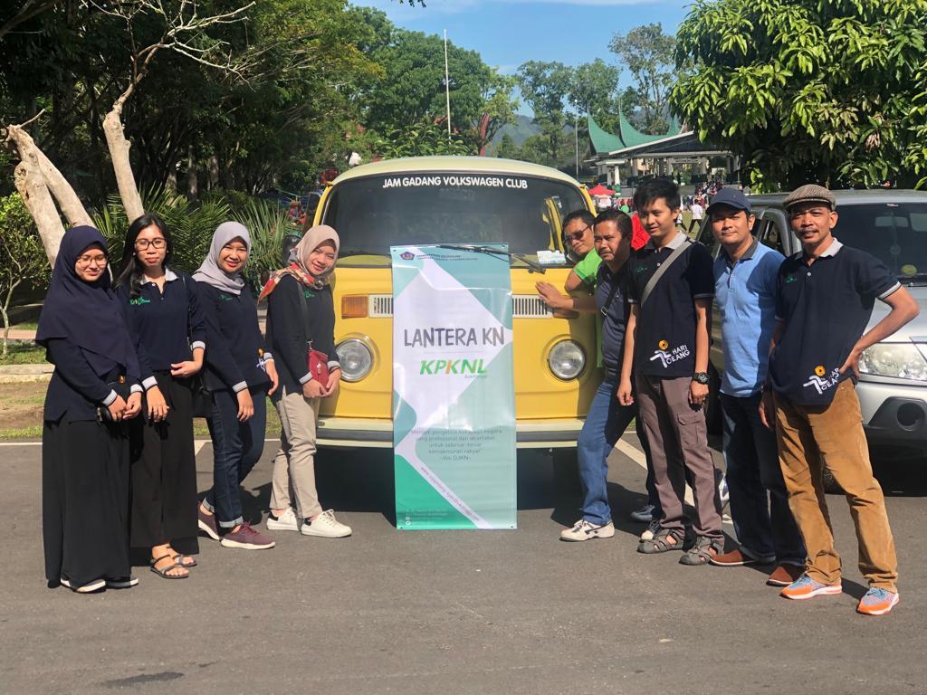 KPKNL Bukittinggi : Minggu Sehat sebagai Ajang Pengenalan Tusi pada Masyarakat