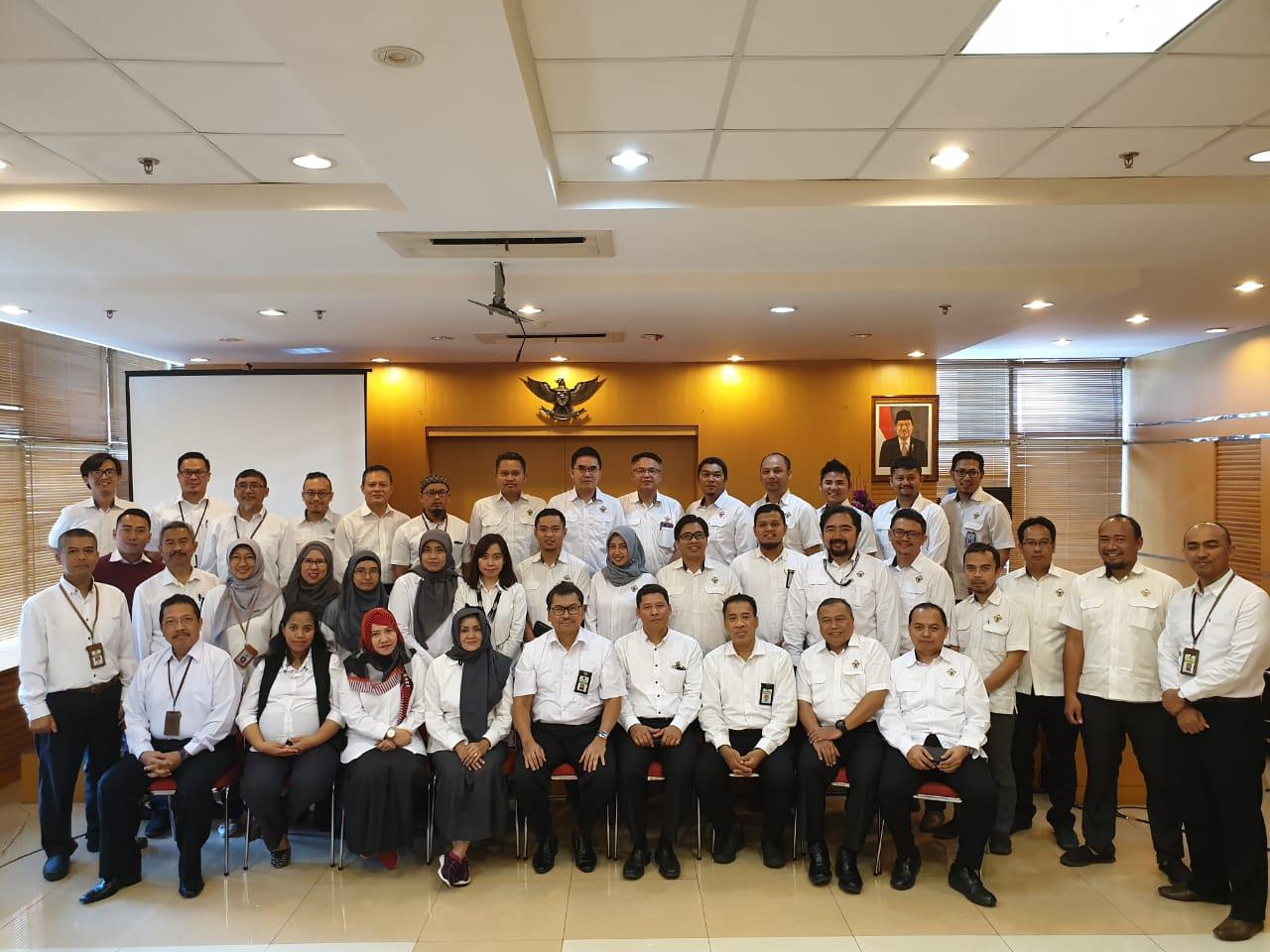 Kepala Kanwil DJKN Jawa Barat Menerima Peserta Studi Banding Pemahaman Revaluasi BMN dari BPK
