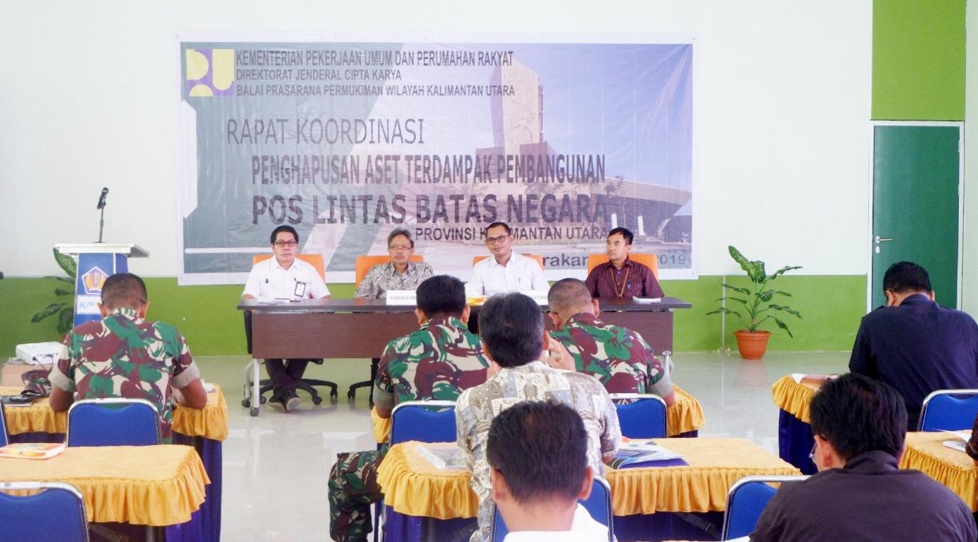 Rapat Koordinasi Penghapusan Aset Terdampak