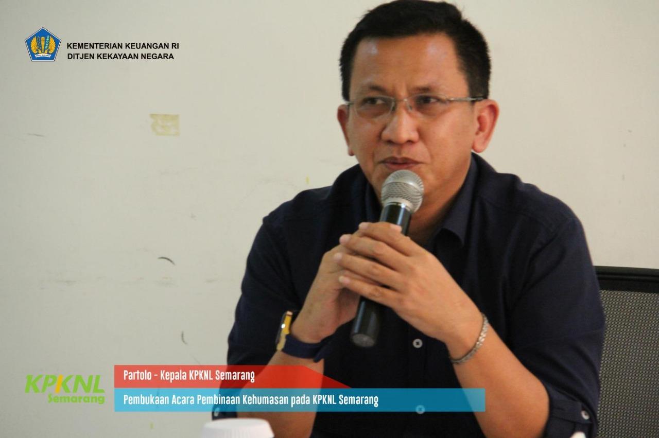 KPKNL Semarang Undang Kanwil Terkait Pembinaan Kehumasan