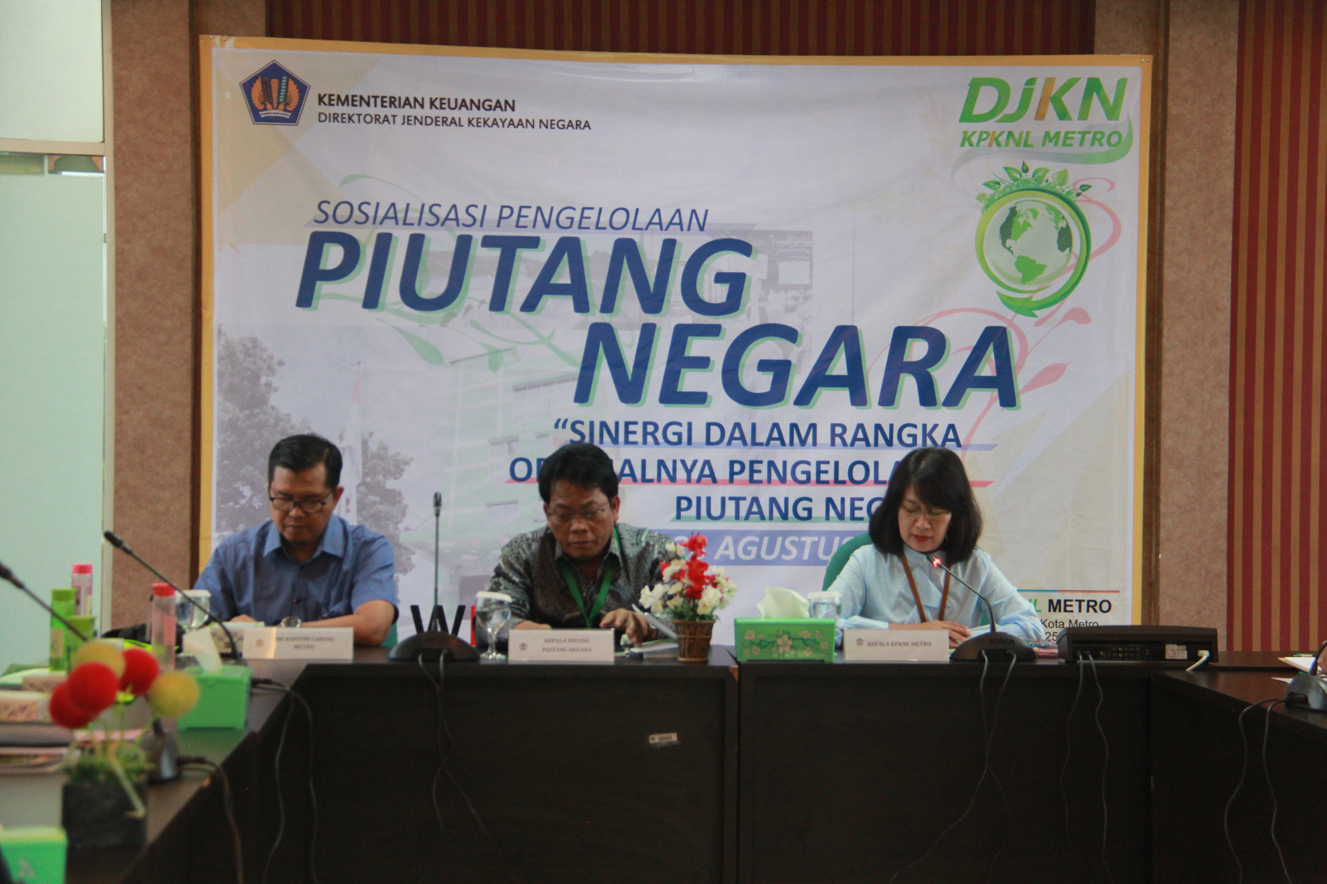 Semarak Launching Inovasi Virtual Account Piutang Negara