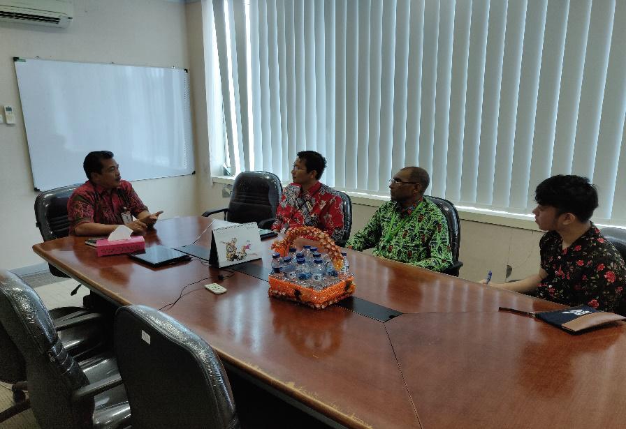 Koordinasi dan Penggalian Potensi lelang pada PT Bank BRI (Persero) Wilayah Papua dan Papua Barat