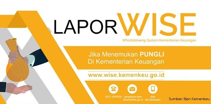 Laporkanlah pada WISE Kemenkeu Apabila Menemukan Pungutan Liar di Kementerian Keuangan