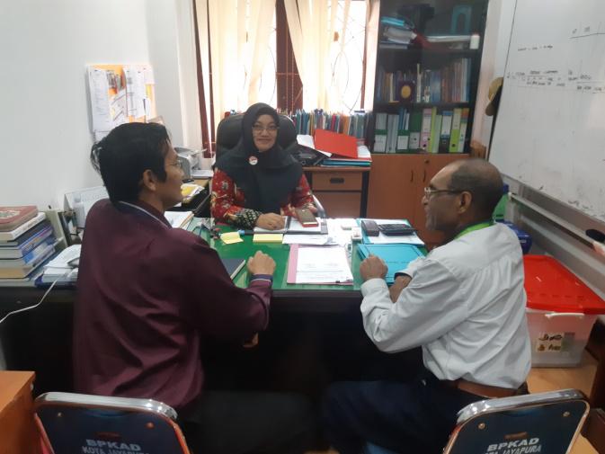 Koordinasi dan Penggalian Potensi Lelang pada Pemerintah Kota Jayapura