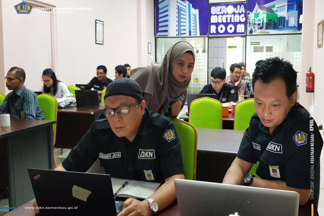 Digelar Bersamaan, KPKNL Dumai adakan Asistensi Pelatihan E-learning Kode Etik dan Kode Perilaku PNS Kemenkeu