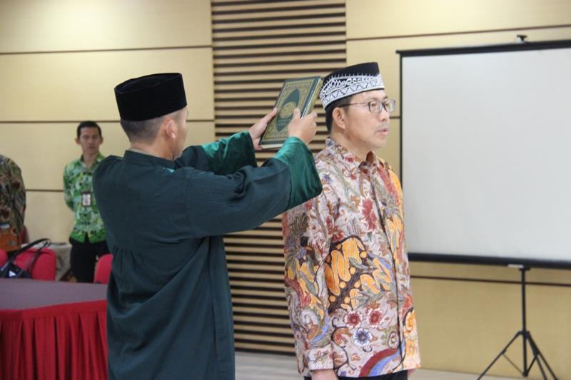 Pelantikan Pejabat Lelang Kelas II di Wilayah Kanwil DJKN Jawa Barat