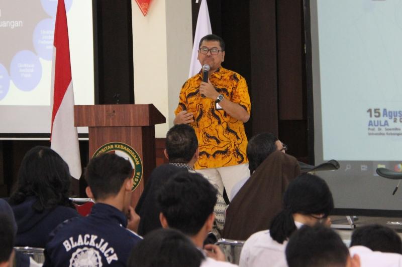 DJKN Goes To Campus: Kakanwil DJKN Jawa Barat Beri Kuliah Umum di UKRI