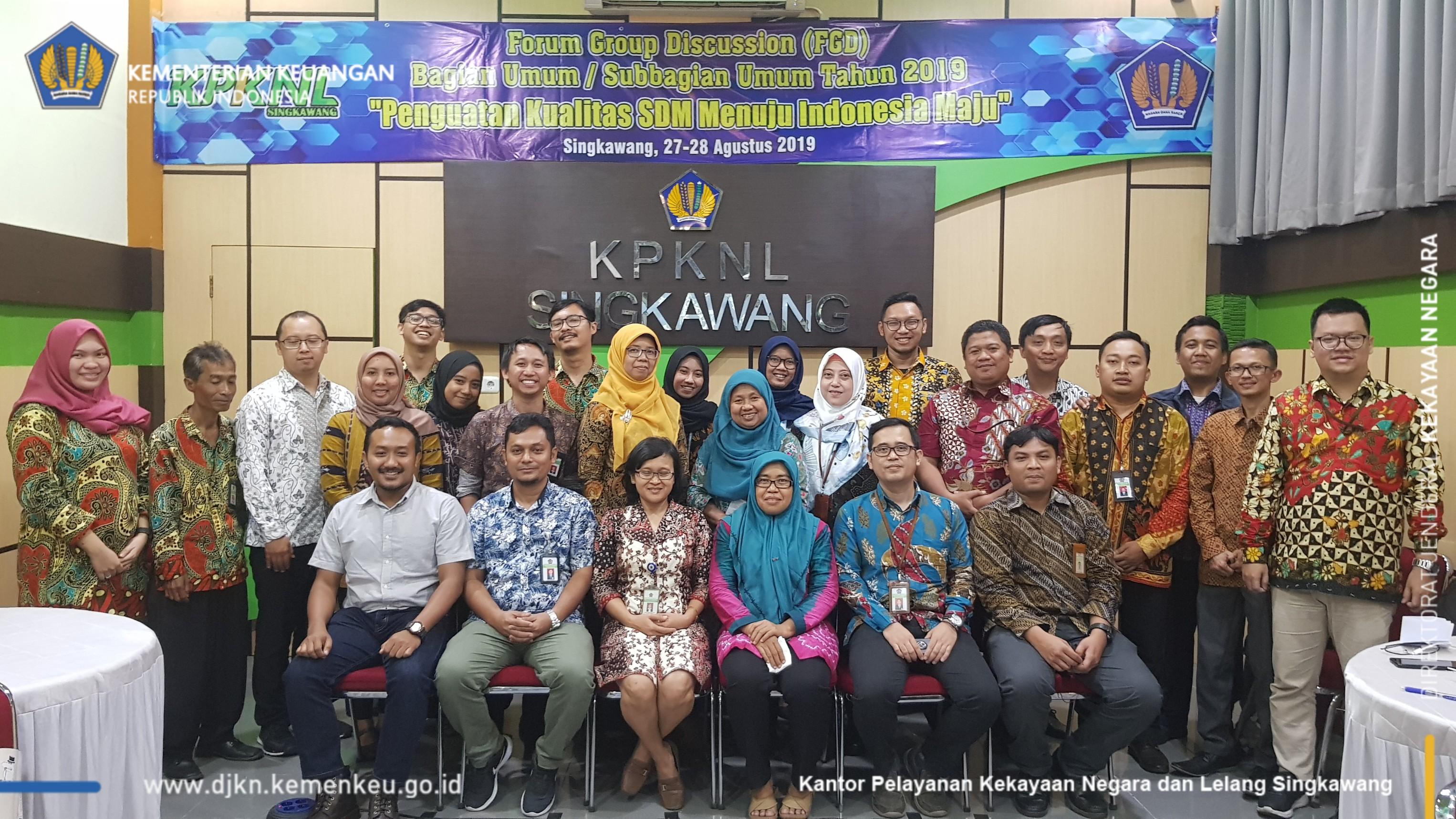 Penguatan Kualitas SDM Menuju Indonesia Maju