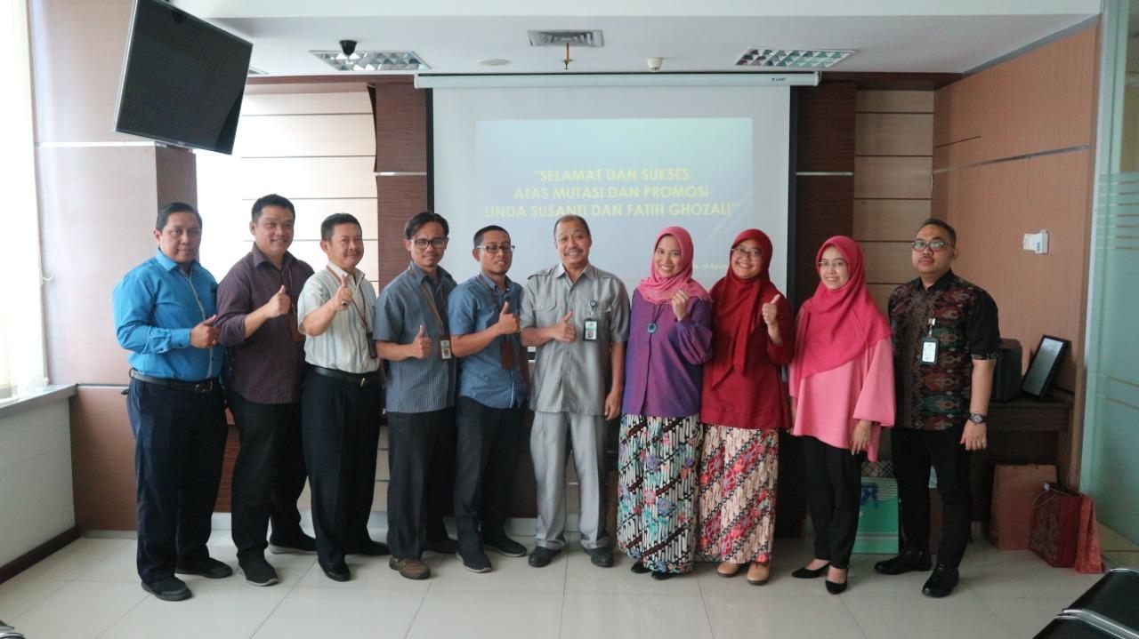 Pisah Sambut Pejabat Eselon IV di Lingkungan KPKNL Jakarta IV