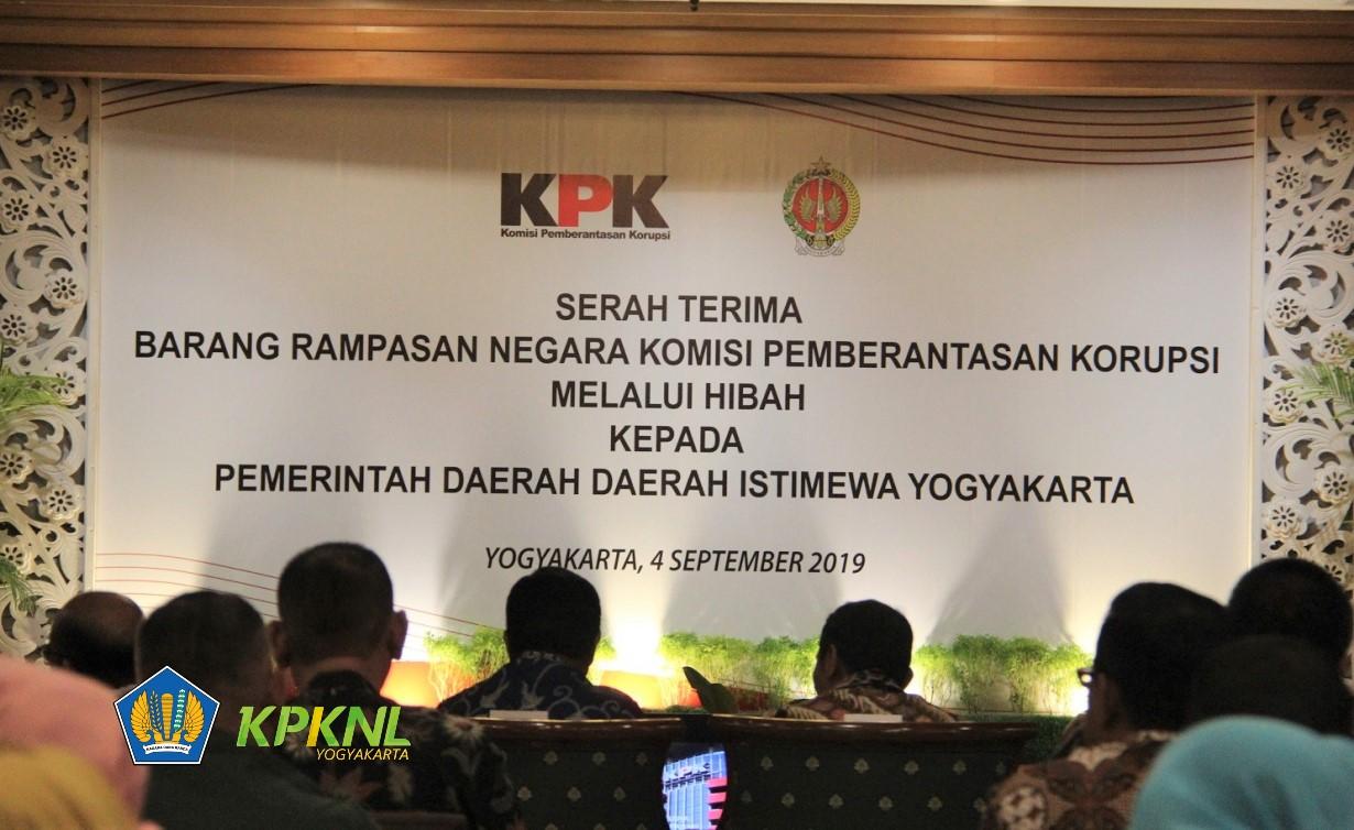KPK Hibahkan Aset Heritage Rampasan KPK Ke Pemerintah D.I.Y