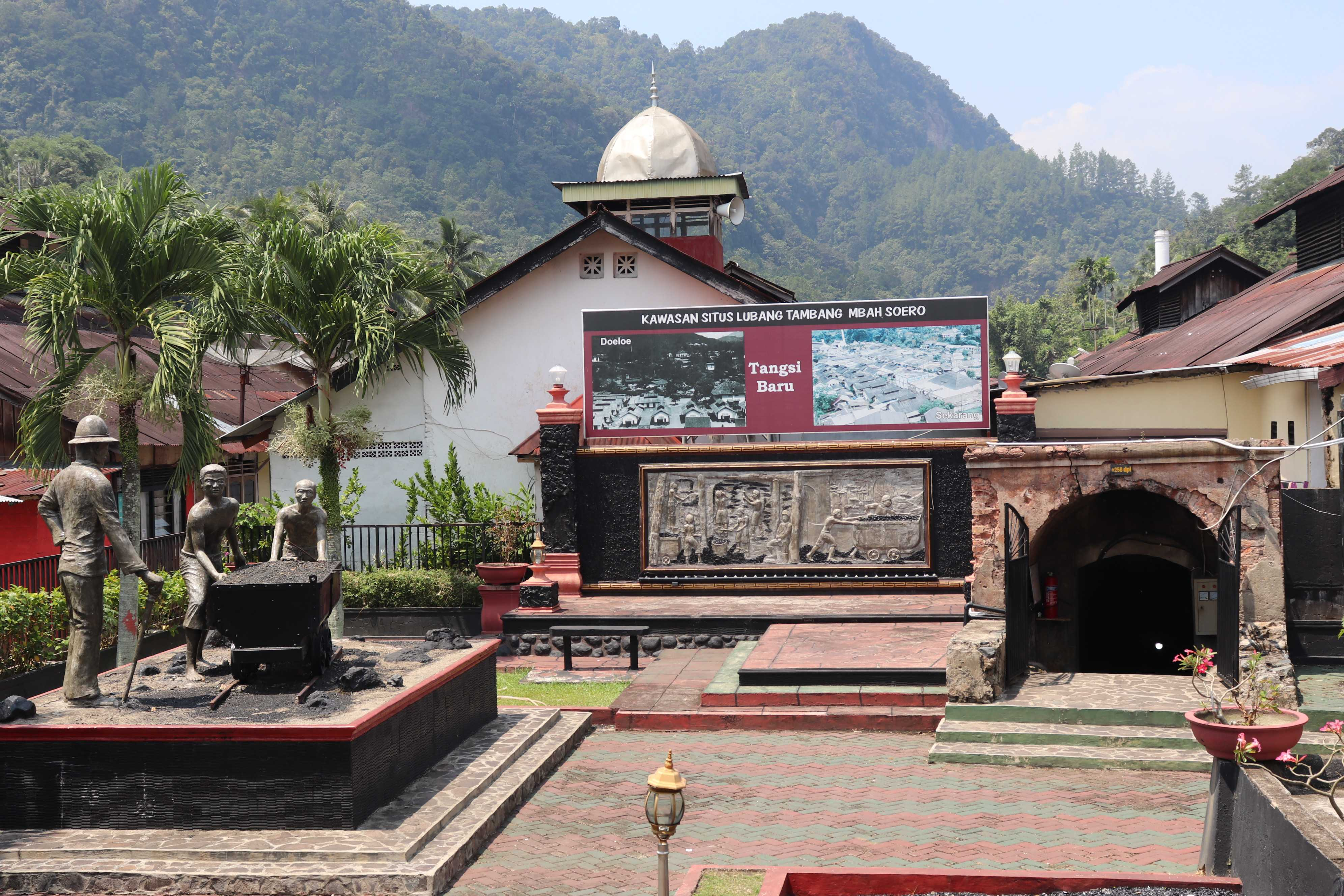 Jadi Warisan Budaya Dunia ke-5 Indonesia, KPKNL Padang telusuri bekas pertambangan batubara, Lubang Mbah Soero Sawahlunto