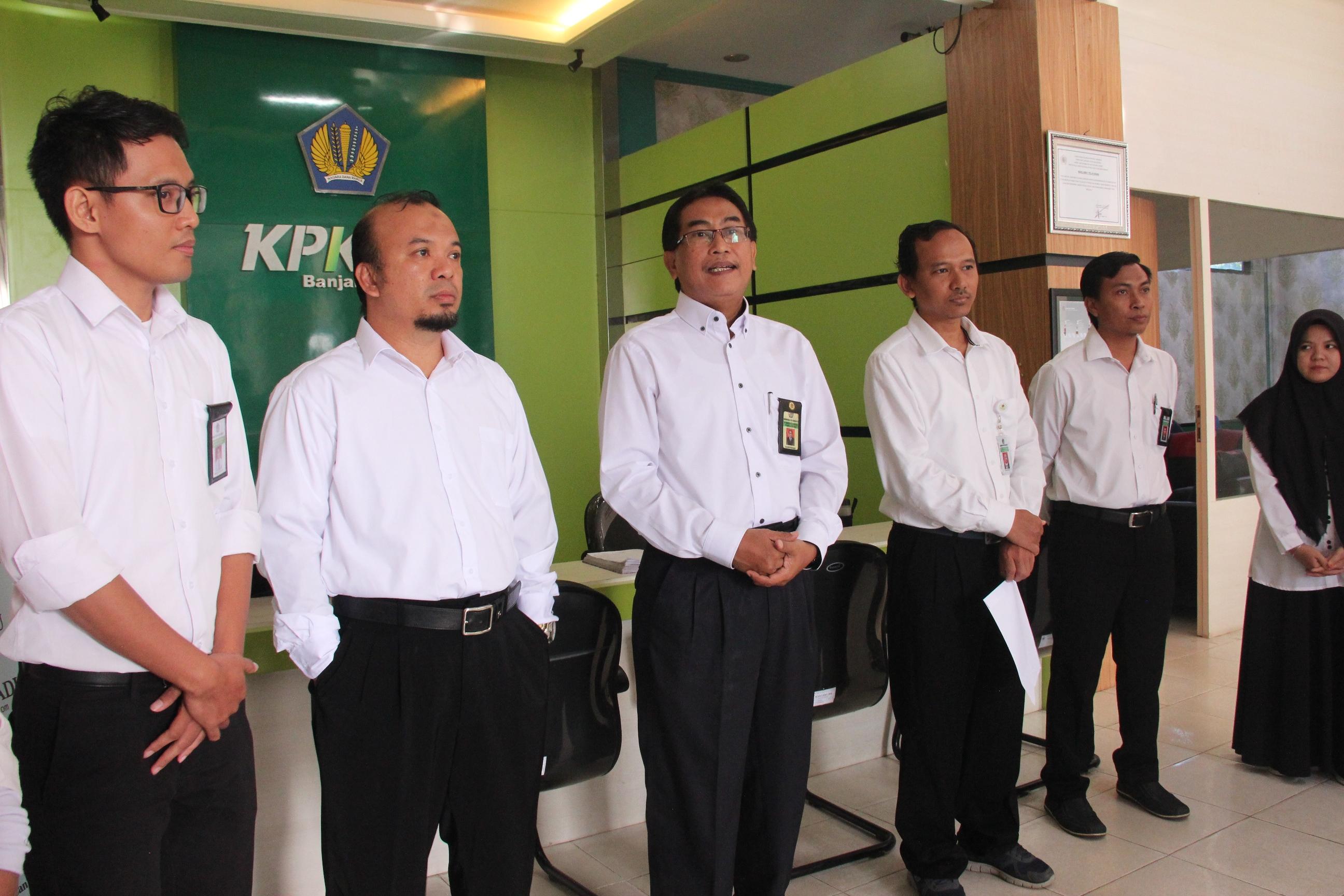 """Gebrakan Baru """"Budaya Kumpul"""" di KPKNL Banjarmasin"""