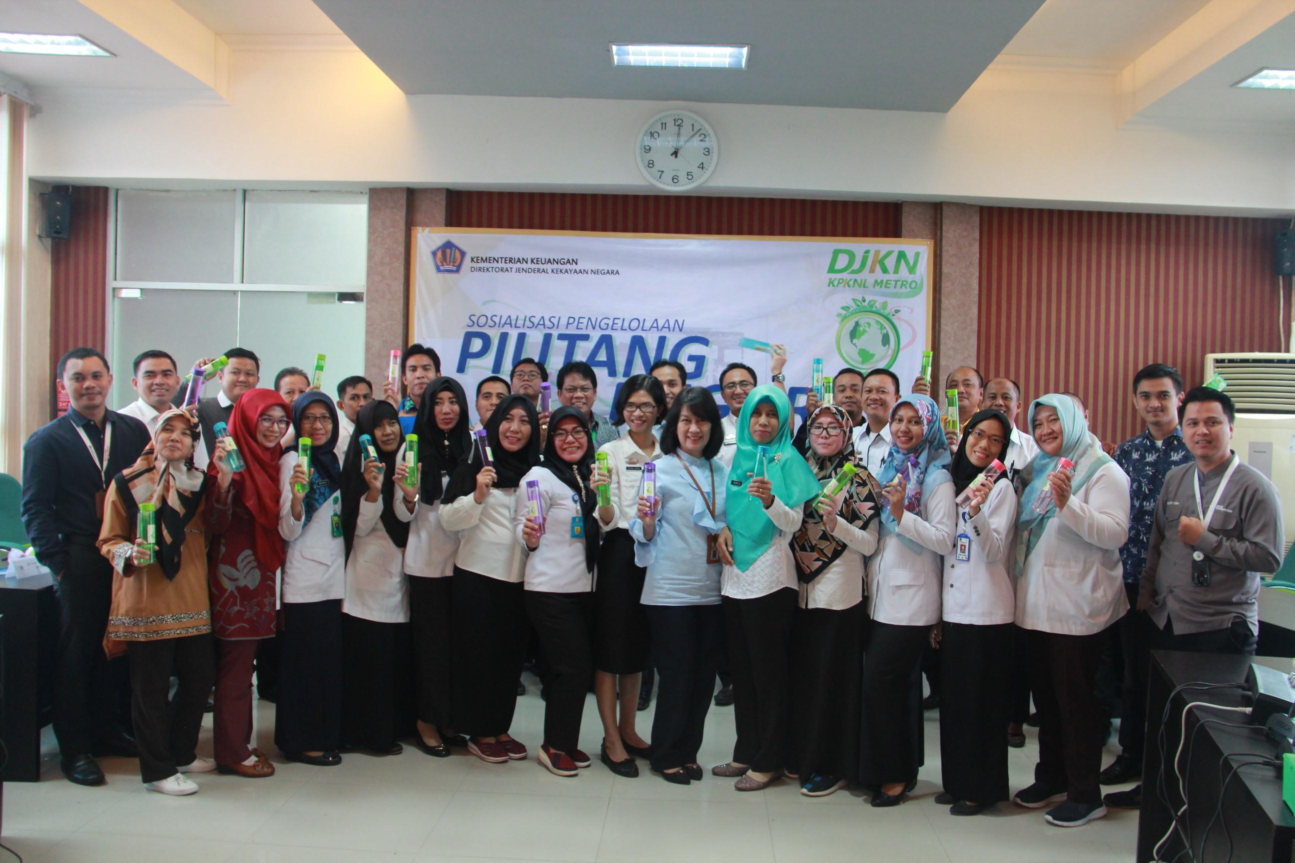 Budaya Eco Office KPKNL Metro