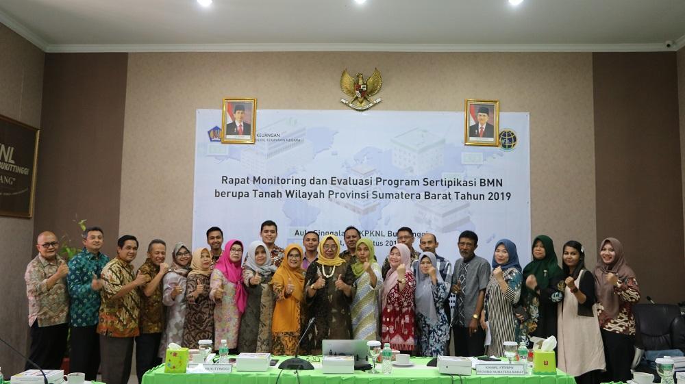 Dukung program sertifikasi BMN berupa tanah, Kanwil ATR/BPN Sumbar : Kita berkumpul bersama dalam rangka penyelamatan aset